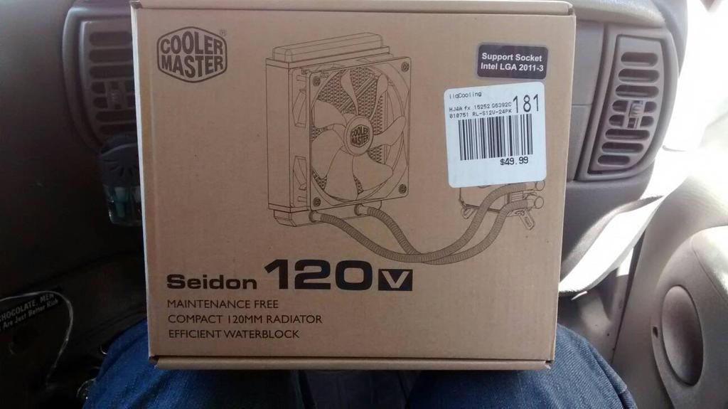 Cooler Master Seidon 120V liquid cooler by TurboDudley