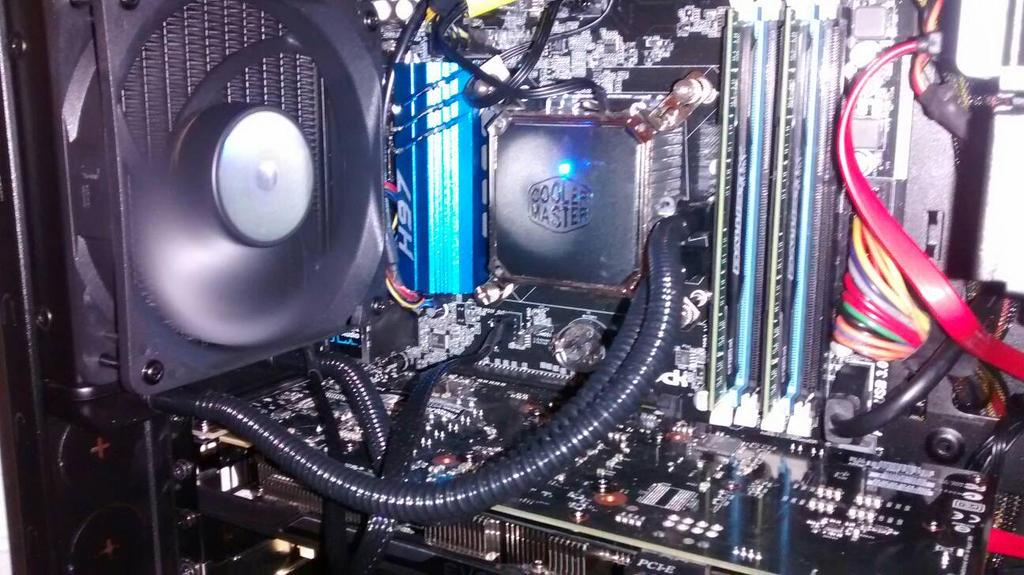 Seidon 120V installed by TurboDudley