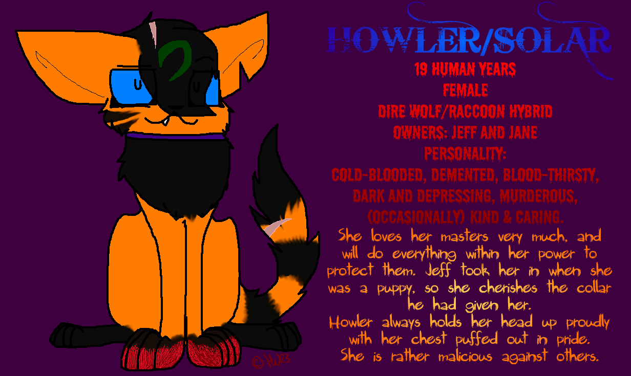 Howler ID by Howling-Wolf123