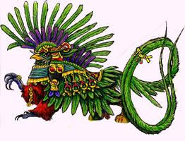 Adorned Quetzal by StephanieAKAfany