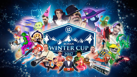 2017 4chan Winter Cup by posterfig