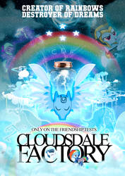 Cloudsdale Factory by posterfig