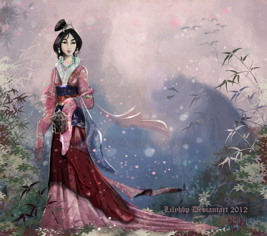 Fa Mulan by Veronika-Art