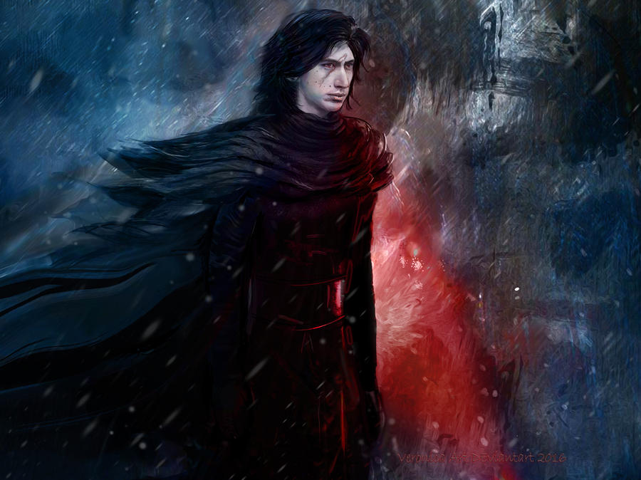 kylo ren by veronika art on deviantart. Black Bedroom Furniture Sets. Home Design Ideas