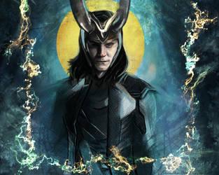 Loki Prince of Asgard by Veronika-Art