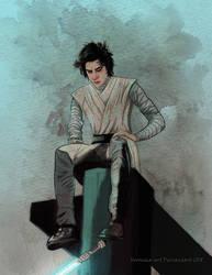 Young Ben Solo by Veronika-Art