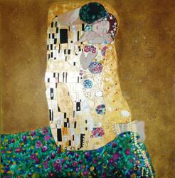 Klimts kiss study