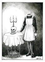 #20 Headless Maid by oodell