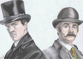 Holmes and Watson by Jaenelle-20