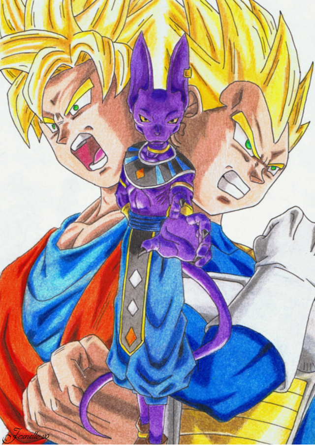 Dragon Ball Super - Beerus saga by Jaenelle-20