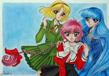 Hikaru, Umi and Fuu by Jaenelle-20