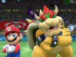 Smashverse Bowser/Mario Bromance by GodDragonKing