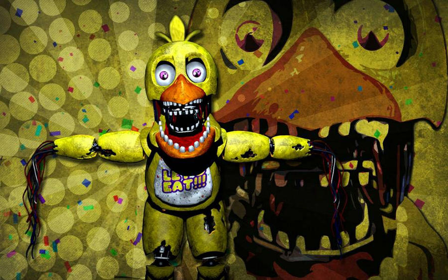 Old chica wallpaper five nights at freddy s 2 by jetiopia on