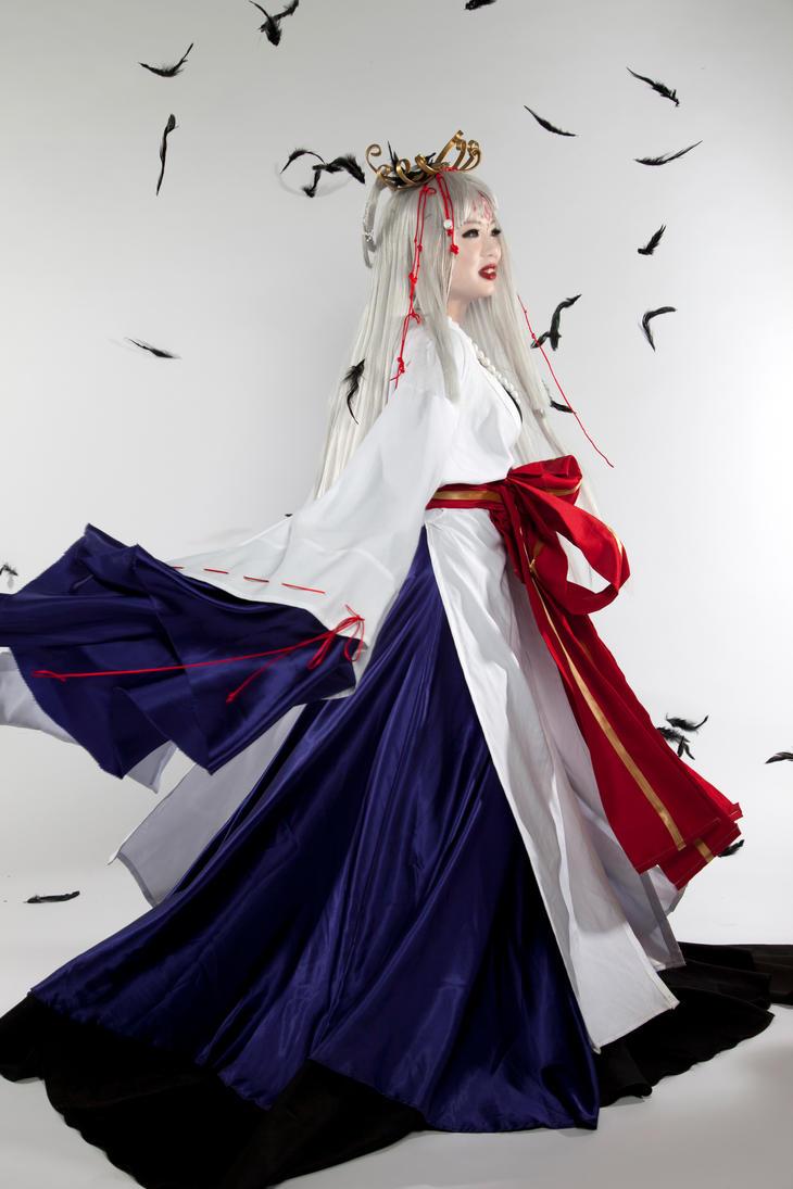 Hinoto Twirl by strayangelxdemon