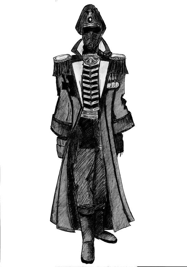 [W40K] Collection d'images : La Garde Impériale Death_Korps_of_Krieg_Commissar_by_akbart