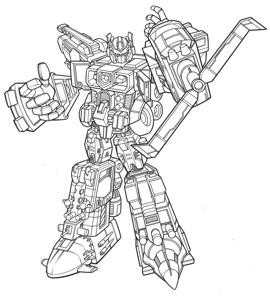 Moderno Abejorro Y Optimus Prime Para Colorear Imágenes - Dibujos ...