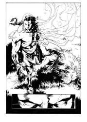 Samson VS the Lion page 3 by Htownfan13