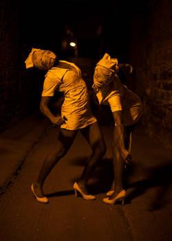 Silent Hill Nurses Cosplay