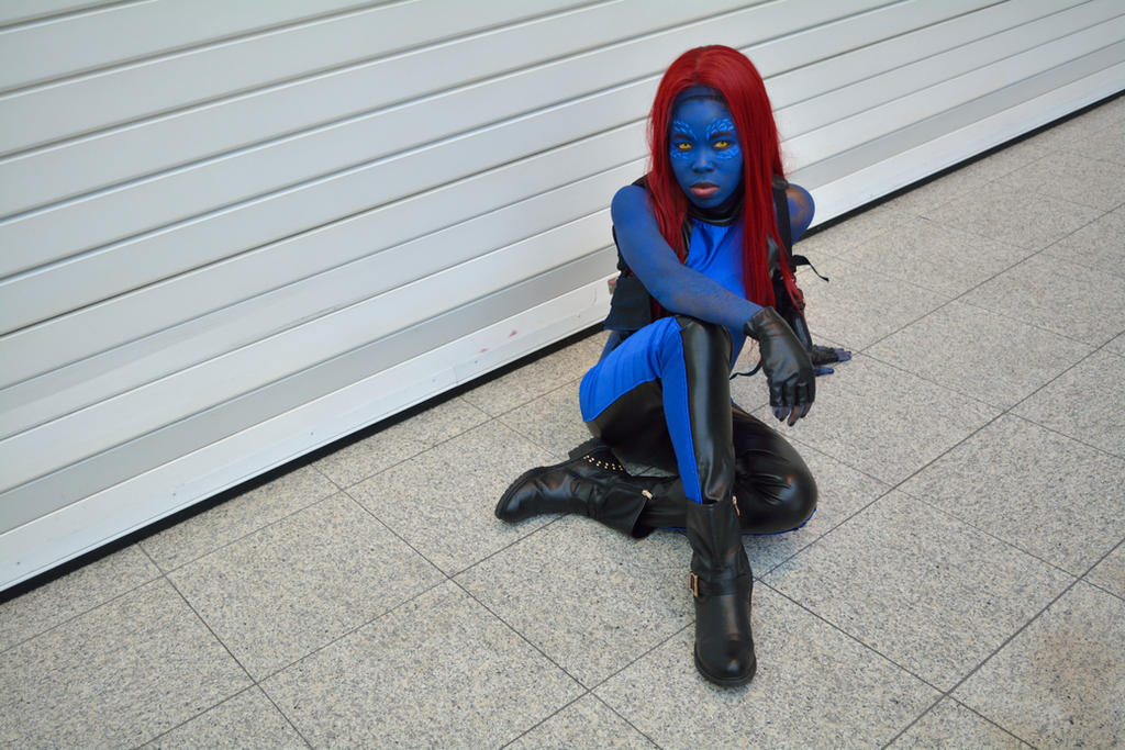 Mystique Cosplay 3 by OsatoCosplay