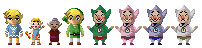 Zelda: Wind Waker Pixel Art by MajikAly