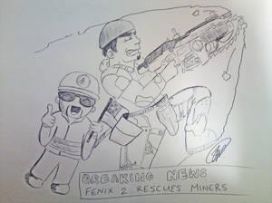 Fenix 2 News Rescues Miners