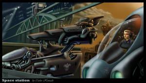 SPACE STATION by CarlosHurtadoSoriano