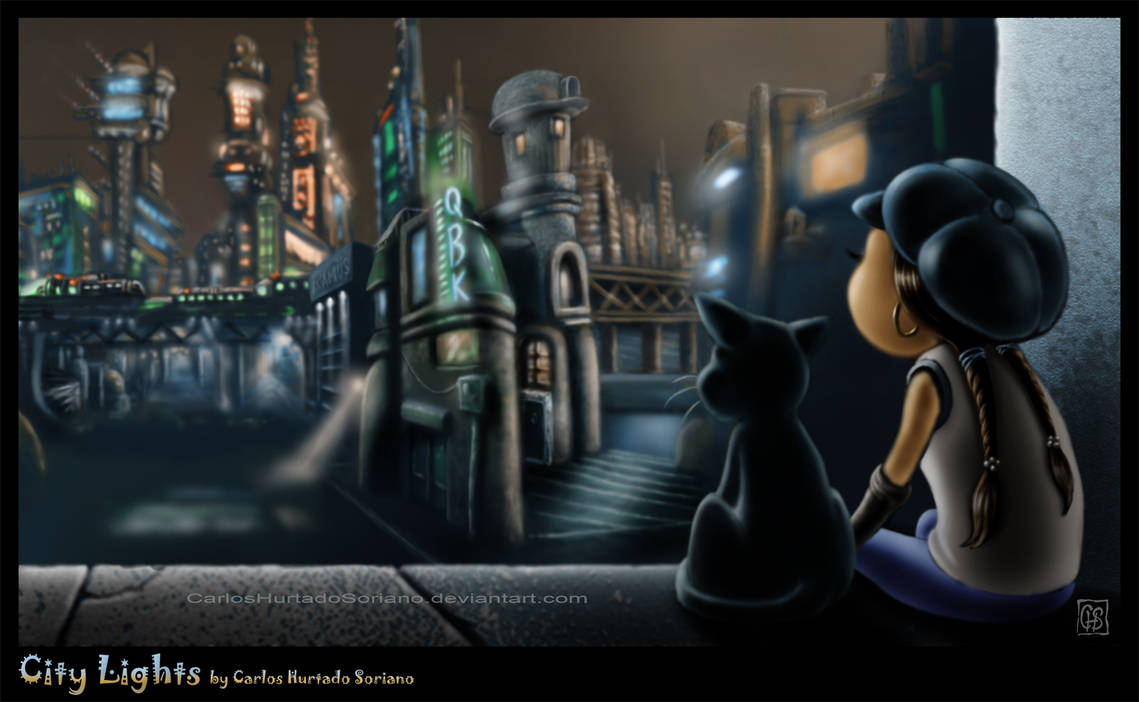 CITY LIGHTS by CarlosHurtadoSoriano