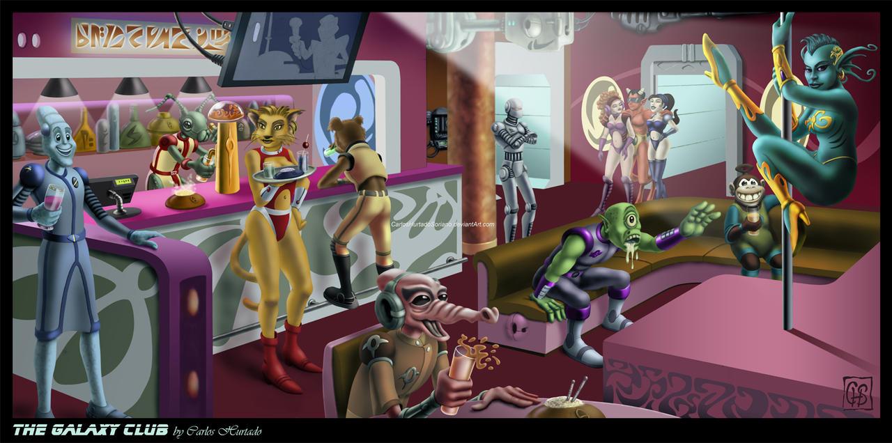 THE GALAXY CLUB by CarlosHurtadoSoriano