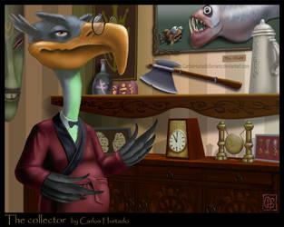 THE COLLECTOR by CarlosHurtadoSoriano