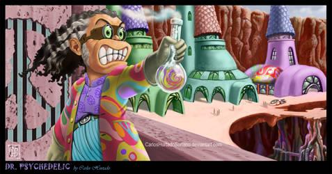 DR. PSYCHEDELIC by CarlosHurtadoSoriano