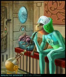 GALACTIC SMOKER by CarlosHurtadoSoriano