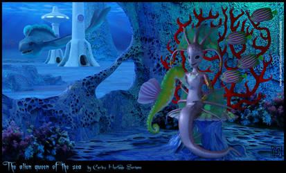 The alien queen of the sea
