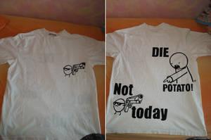 die potato - asdfmovie t-shirt by Mameha87