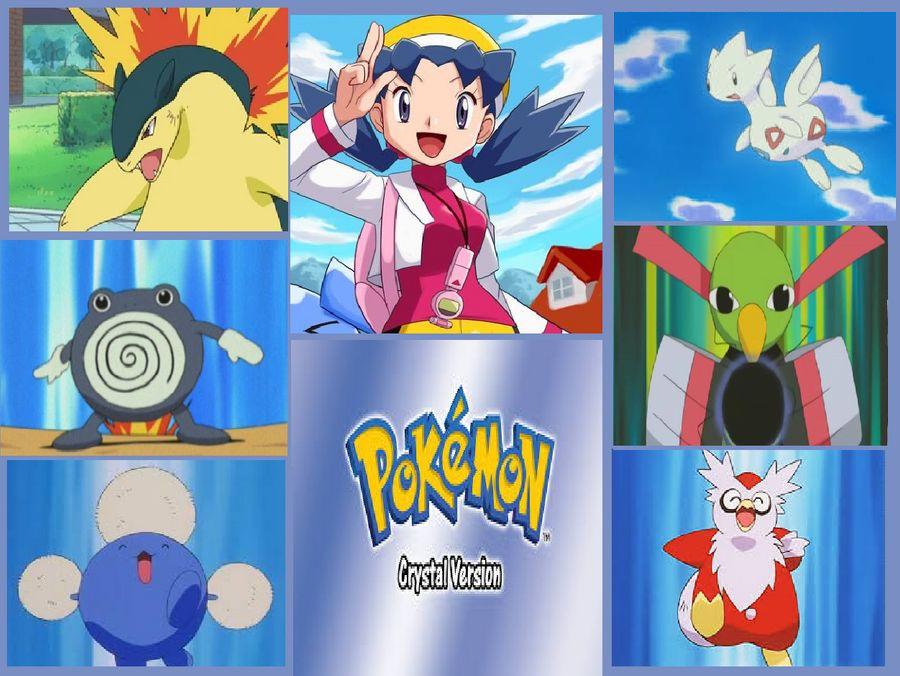 My Pokemon Crystal Team