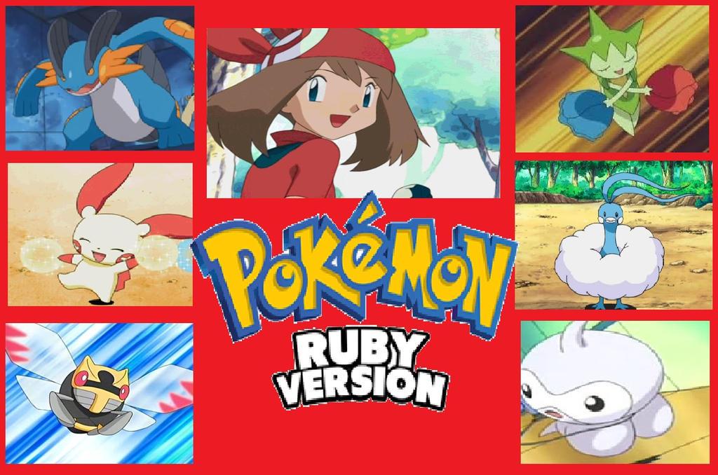 My Pokemon Ruby Team