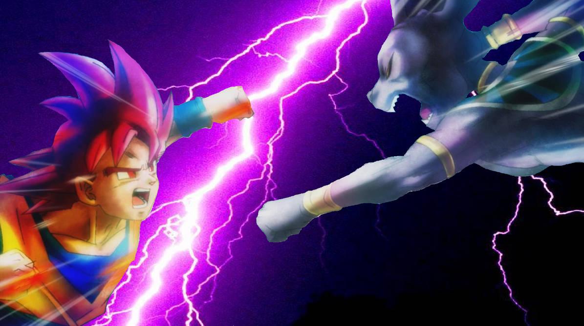 Battle of Gods Goku vs Bills