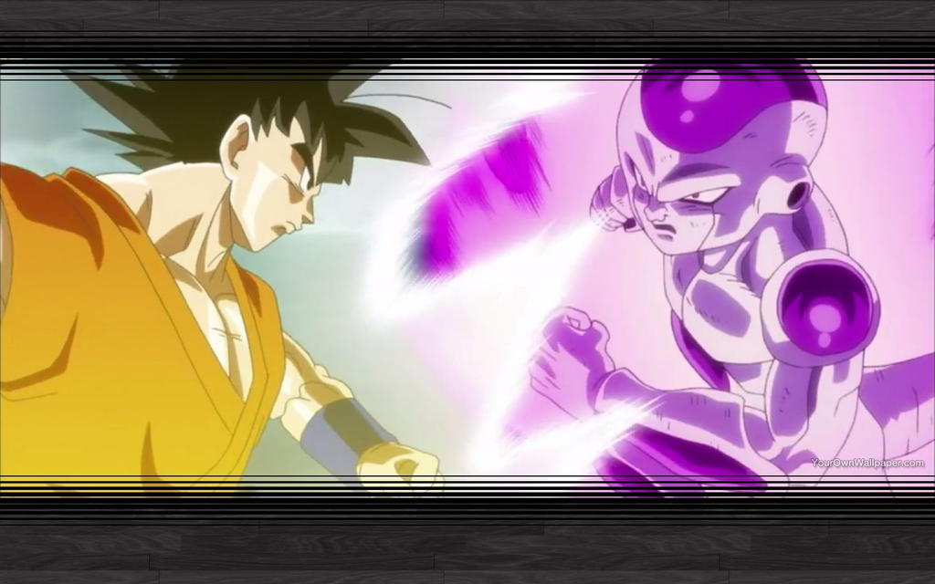 Goku Vs Frieza Wallpaper By CatCamellia