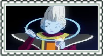 Dragonball Z Whis Stamp by CatCamellia