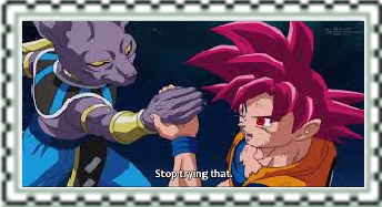 Bills vs Goku Stamp by CatCamellia