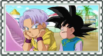 Trunks and Goten Stamp by CatCamellia