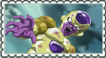 Golden Frieza Stamp by CatCamellia