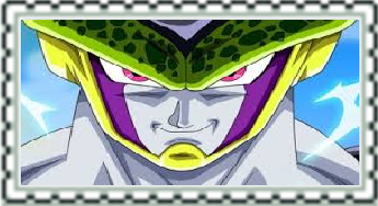 Dragonball Z Cell Stamp by CatCamellia