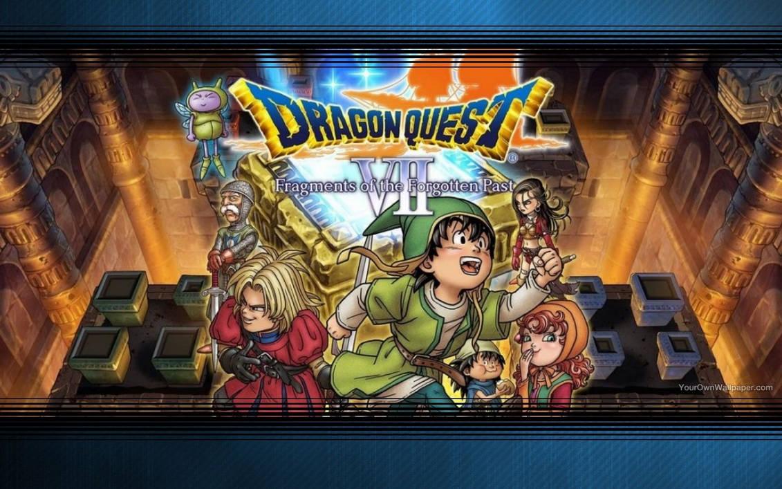 Dragon Quest VII Wallpaper