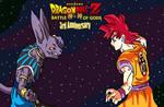 Dragonball Z Goku vs Bills Drawing