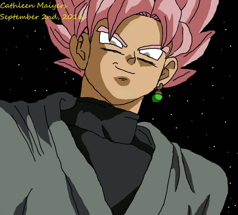 Black Super Saiyan Rose