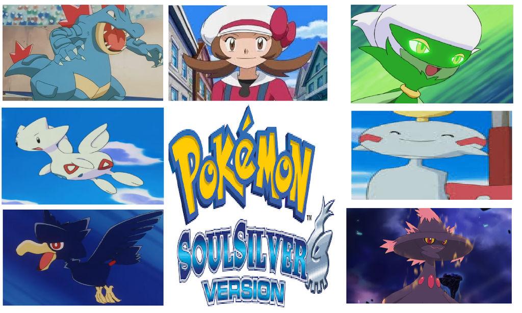 My Pokemon Soul Silver Team