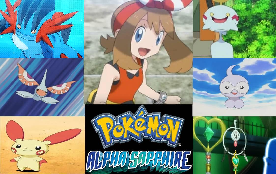 My Pokemon Alpha Sapphire Team