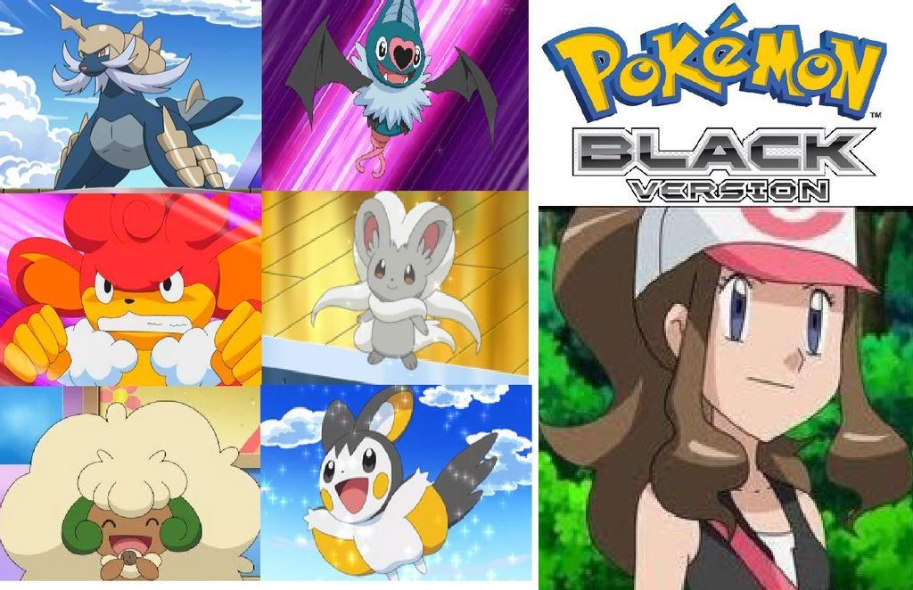 My Pokemon Black Team