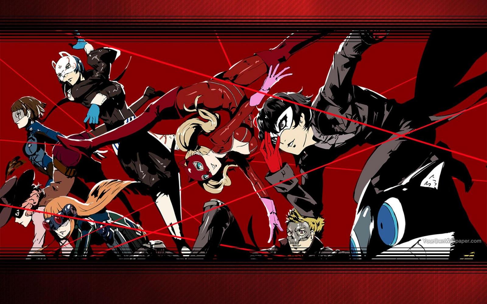 Persona 5 Wallpaper by CatCamellia on DeviantArt