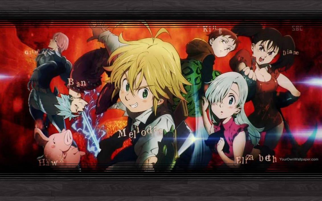 Nanatsu No Taizai The Seven Deadly Sins Wallpaper By Catcamellia